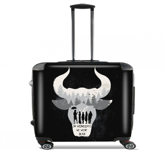 "American coven for Wheeled bag cabin luggage suitcase trolley 17"" laptop"