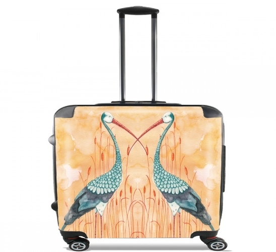 "An Exotic Crane for Wheeled bag cabin luggage suitcase trolley 17"" laptop"