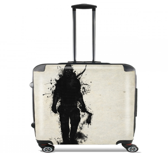 "Apocalypse Hunter for Wheeled bag cabin luggage suitcase trolley 17"" laptop"