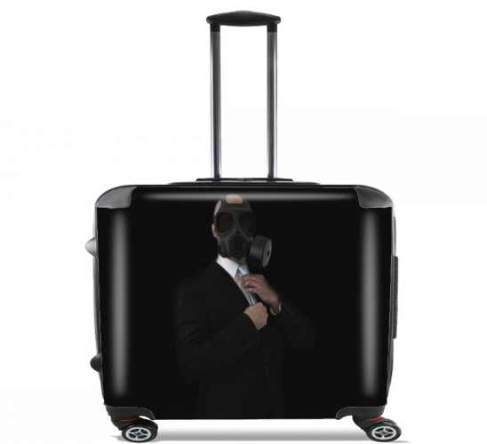 "Apocalyptic Style for Wheeled bag cabin luggage suitcase trolley 17"" laptop"