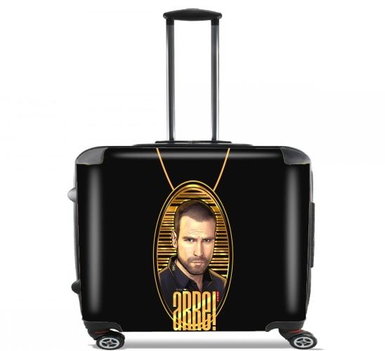 "Arre The Lord of the Skies for Wheeled bag cabin luggage suitcase trolley 17"" laptop"