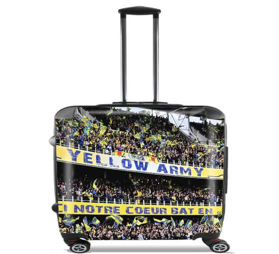 "ASM Clermont for Wheeled bag cabin luggage suitcase trolley 17"" laptop"