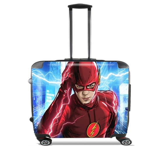 "At the speed of light for Wheeled bag cabin luggage suitcase trolley 17"" laptop"