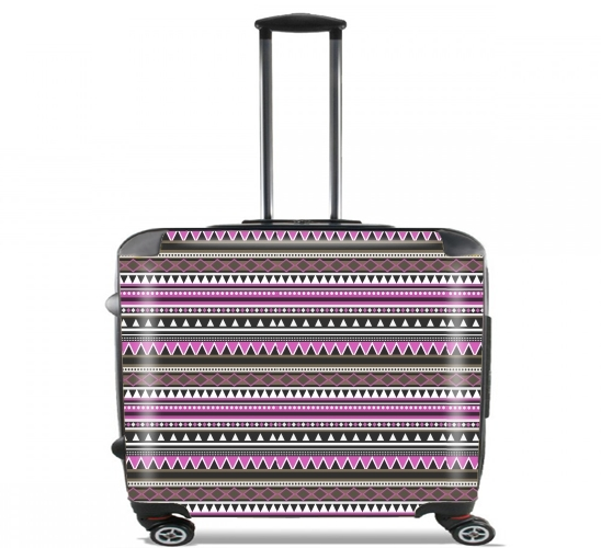 "Azteca for Wheeled bag cabin luggage suitcase trolley 17"" laptop"