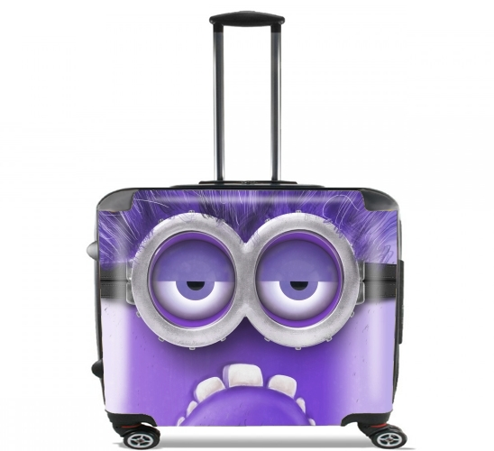 "Bad Minion  for Wheeled bag cabin luggage suitcase trolley 17"" laptop"