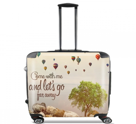 "Ballons for Wheeled bag cabin luggage suitcase trolley 17"" laptop"