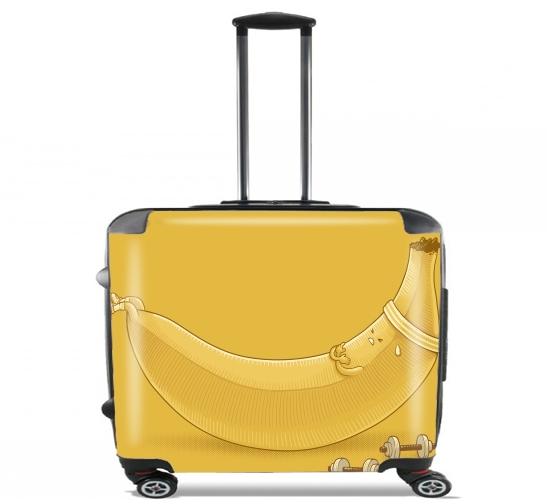 "Banana Crunches for Wheeled bag cabin luggage suitcase trolley 17"" laptop"