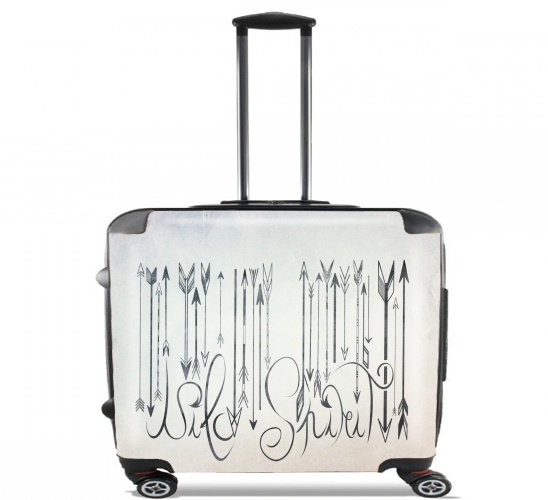 "Barcode Wild Spirit for Wheeled bag cabin luggage suitcase trolley 17"" laptop"