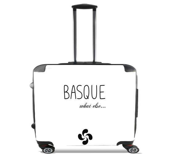 "Basque What Else for Wheeled bag cabin luggage suitcase trolley 17"" laptop"