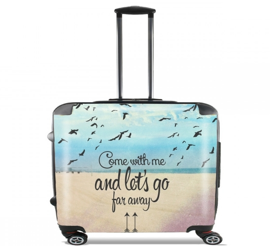 "Beach for Wheeled bag cabin luggage suitcase trolley 17"" laptop"