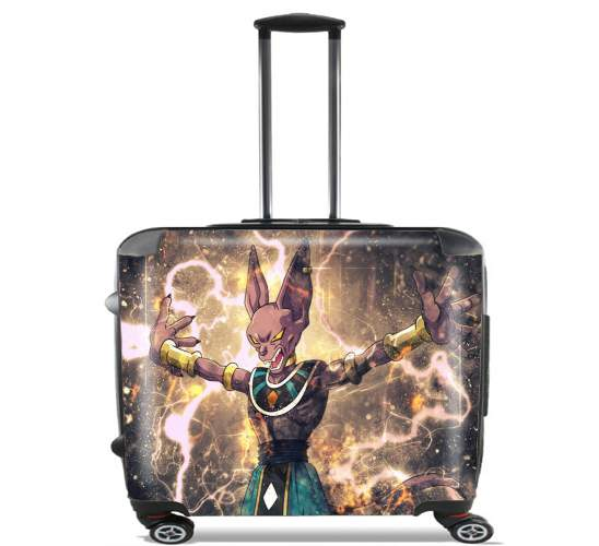 "Beerus for Wheeled bag cabin luggage suitcase trolley 17"" laptop"