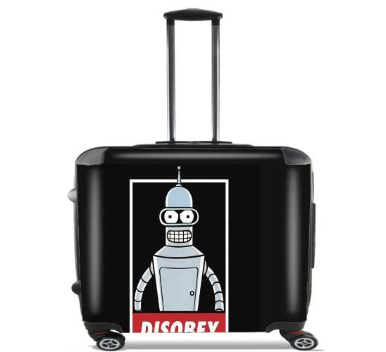 "Bender Disobey for Wheeled bag cabin luggage suitcase trolley 17"" laptop"