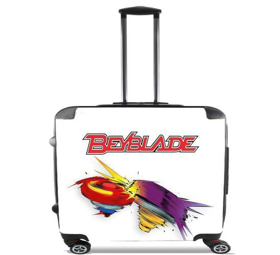 "Beyblade magic tops for Wheeled bag cabin luggage suitcase trolley 17"" laptop"