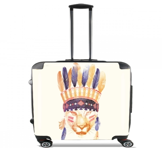 "Big chief for Wheeled bag cabin luggage suitcase trolley 17"" laptop"