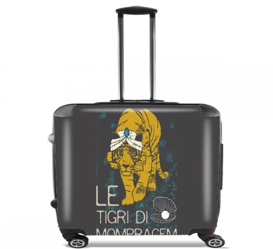 "Book Collection: Sandokan, The Tigers of Mompracem for Wheeled bag cabin luggage suitcase trolley 17"" laptop"