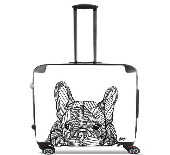 "Bouledogue for Wheeled bag cabin luggage suitcase trolley 17"" laptop"