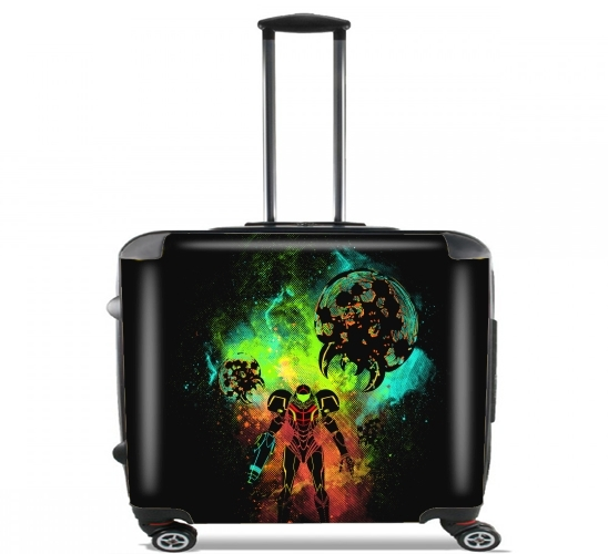 "Bounty Hunter Art for Wheeled bag cabin luggage suitcase trolley 17"" laptop"