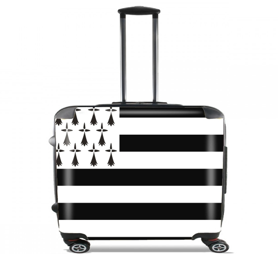 "Brittany for Wheeled bag cabin luggage suitcase trolley 17"" laptop"
