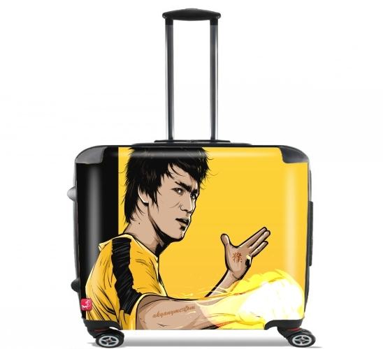 "Bruce The Path of the Dragon for Wheeled bag cabin luggage suitcase trolley 17"" laptop"