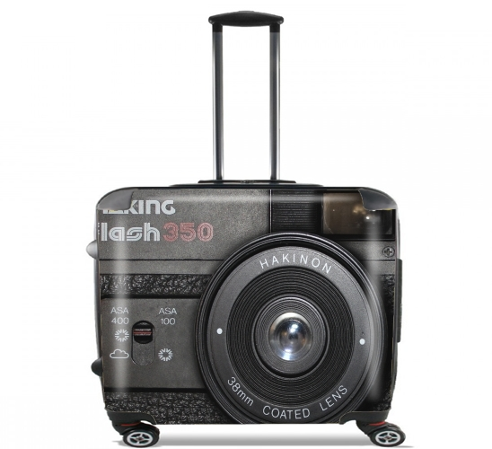 "Camera II for Wheeled bag cabin luggage suitcase trolley 17"" laptop"