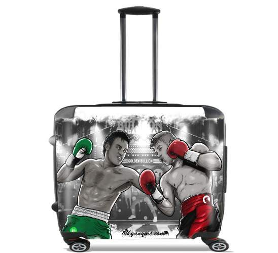 "Canelo vs Chavez Jr CincodeMayo  for Wheeled bag cabin luggage suitcase trolley 17"" laptop"