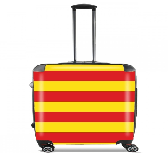 "Catalonia for Wheeled bag cabin luggage suitcase trolley 17"" laptop"