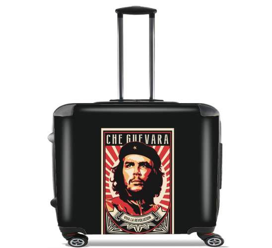"Che Guevara Viva Revolution for Wheeled bag cabin luggage suitcase trolley 17"" laptop"