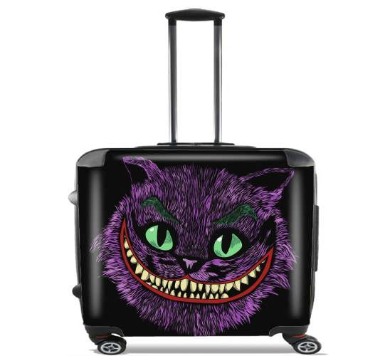 "Cheshire Joker for Wheeled bag cabin luggage suitcase trolley 17"" laptop"
