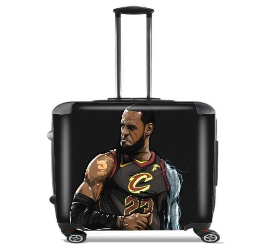 "Cleveland Leader for Wheeled bag cabin luggage suitcase trolley 17"" laptop"