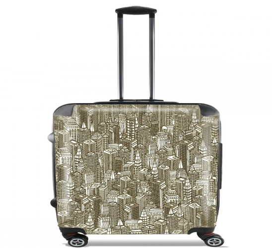 "Concrete Visions for Wheeled bag cabin luggage suitcase trolley 17"" laptop"