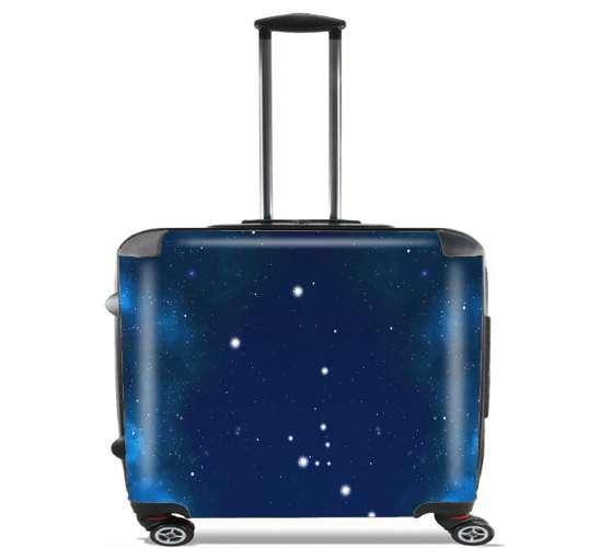 "Constellations of the Zodiac: Taurus for Wheeled bag cabin luggage suitcase trolley 17"" laptop"