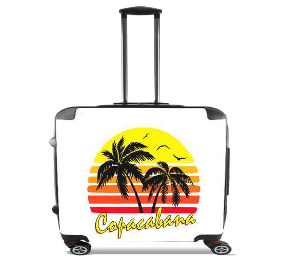 "Copacabana Rio for Wheeled bag cabin luggage suitcase trolley 17"" laptop"