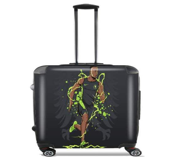 "Corre Renato Ibarra Corre for Wheeled bag cabin luggage suitcase trolley 17"" laptop"