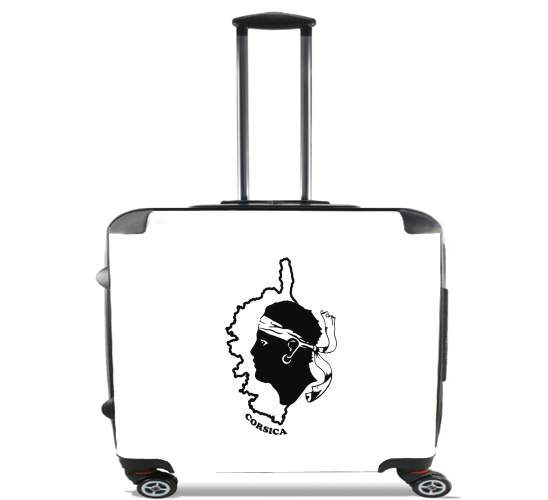 "Corsica for Wheeled bag cabin luggage suitcase trolley 17"" laptop"