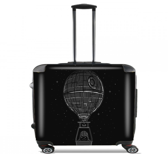 "Dark Balloon for Wheeled bag cabin luggage suitcase trolley 17"" laptop"
