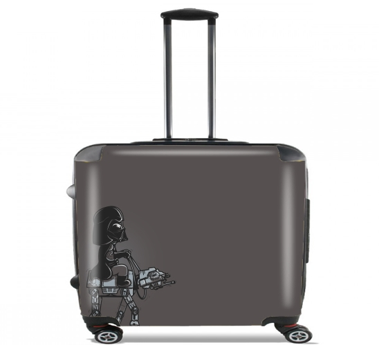 "Dark Walker for Wheeled bag cabin luggage suitcase trolley 17"" laptop"
