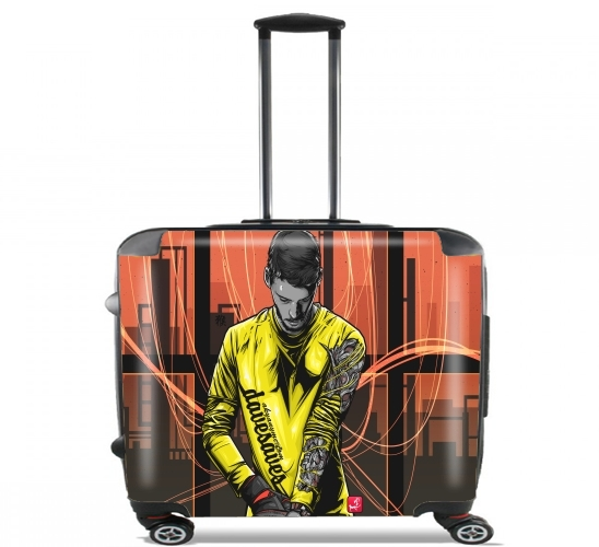 "Dave Saves for Wheeled bag cabin luggage suitcase trolley 17"" laptop"