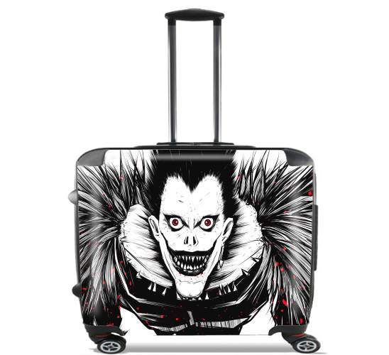 "Death Note  for Wheeled bag cabin luggage suitcase trolley 17"" laptop"