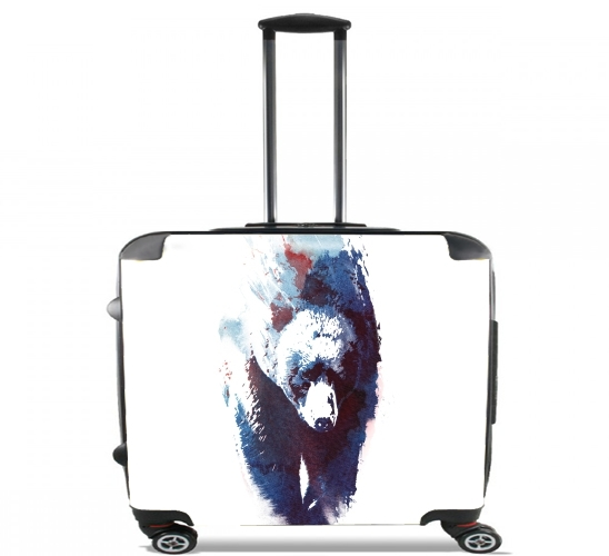 "Death run for Wheeled bag cabin luggage suitcase trolley 17"" laptop"