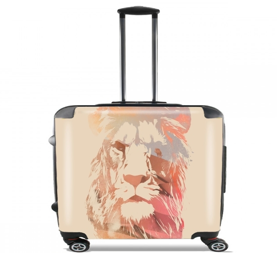 "Desert Lion for Wheeled bag cabin luggage suitcase trolley 17"" laptop"