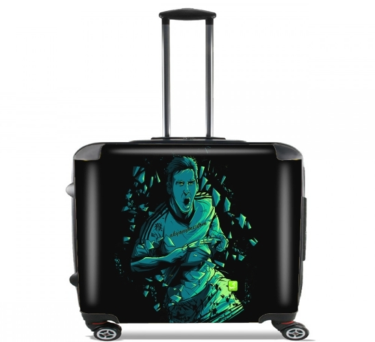 "Dieu for Wheeled bag cabin luggage suitcase trolley 17"" laptop"
