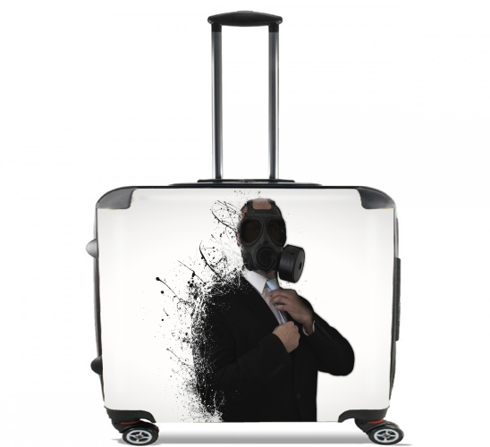 "Dissolution Of Man for Wheeled bag cabin luggage suitcase trolley 17"" laptop"