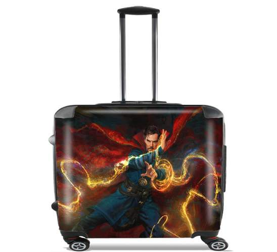 "Doctor Strange for Wheeled bag cabin luggage suitcase trolley 17"" laptop"