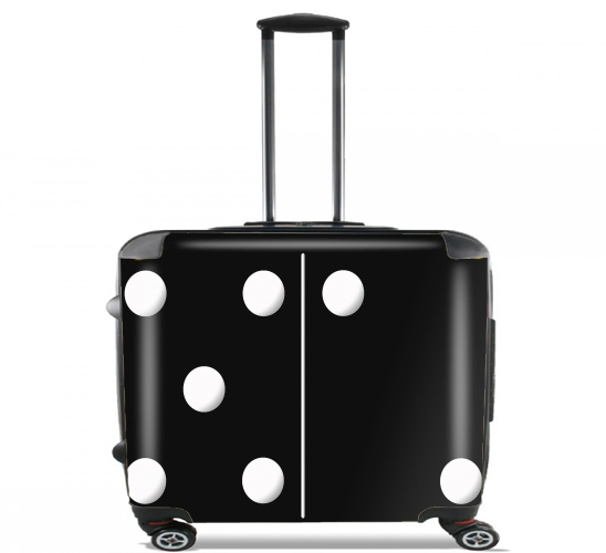 "Domino for Wheeled bag cabin luggage suitcase trolley 17"" laptop"