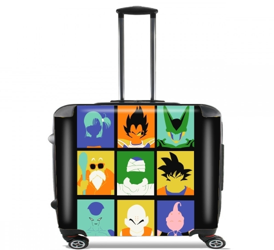 "Dragon pop for Wheeled bag cabin luggage suitcase trolley 17"" laptop"