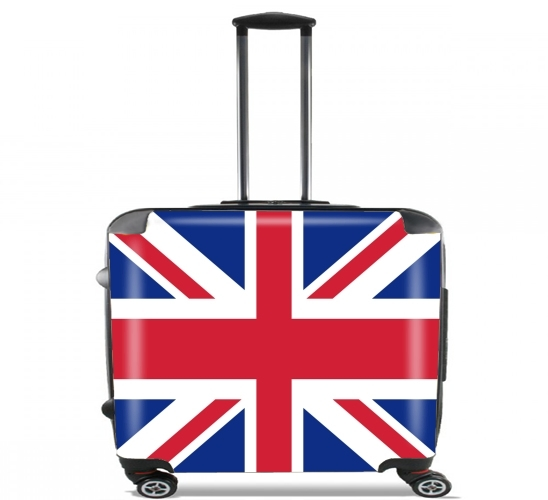 "Flag Union Jack for Wheeled bag cabin luggage suitcase trolley 17"" laptop"