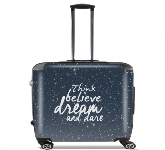 "Dream! for Wheeled bag cabin luggage suitcase trolley 17"" laptop"