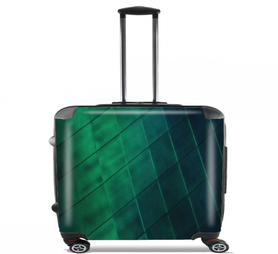 "Earth Meets Sky for Wheeled bag cabin luggage suitcase trolley 17"" laptop"