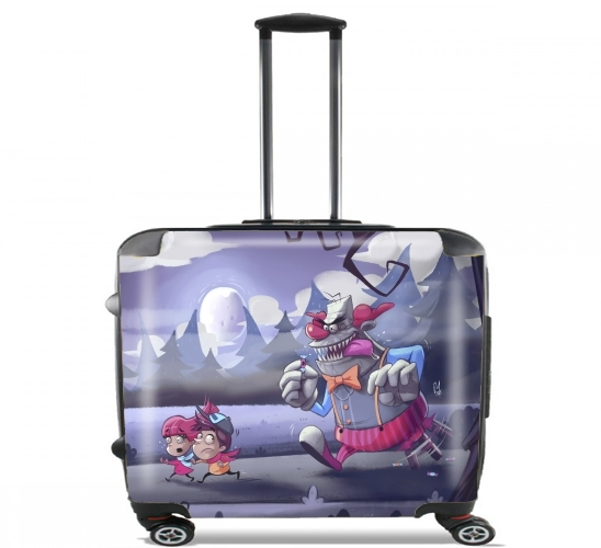 "ElDulcito for Wheeled bag cabin luggage suitcase trolley 17"" laptop"