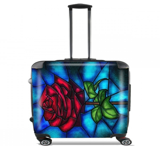 "Eternal Rose for Wheeled bag cabin luggage suitcase trolley 17"" laptop"